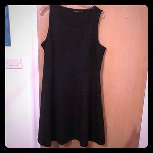 Apt 9 size XL black sleeveless dress